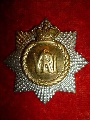 The Royal Canadian Regiment Victorian Crown Cap Badge