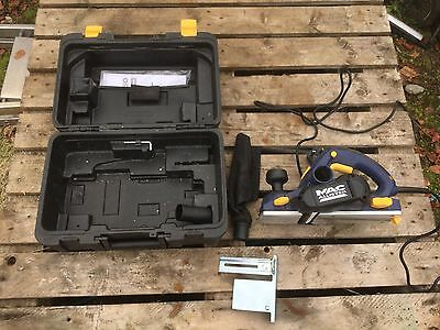 Mac Allister portable electric hand plane 240v With Case