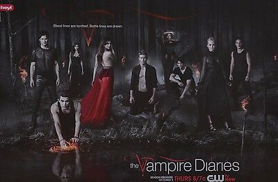THE VAMPIRE DIARIES - A3 Poster (42 x 28 cm) - Paul Wesley Clippings Sammlung