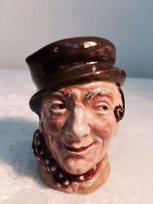 "Vintage ROYAL DOULTON TOBY MUG/JUG  SAM WELLER Miniature 2 1/2"" EXCELLENT"