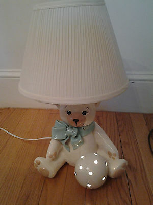 Child's Bear Lamp