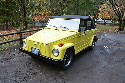 1974 Volkswagen Thing  1974 Volkswagen Thing, Superb Condition, Partially Restored