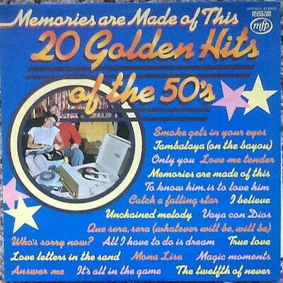 20 Golden Hit Of The 50S. Vinyl , Lp, In Excellent Condition. ( Used.