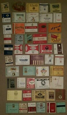 job lot 50x cigarette packet sleeves
