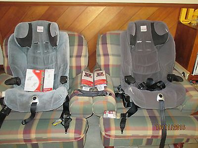 Two Safe n Sound Maxi Rider AHR Convertible Car Booster