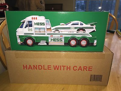 2016 Hess Toy Truck and Dragster Fresh From A Case  Batteries Included Free Ship