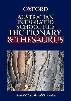 The Australian Integrated File Dictionary and Thesaurus by Anne Knight...