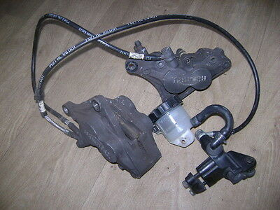 TRIUMPH 955 Sprint ST RS Front Brake assembly Hoses Reservoir Calipers