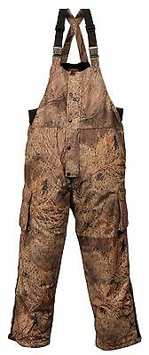 Mossy Oak Insulated, Waterproof and Breathable Brush Camo Overall BiB Medium