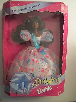 1994 African American Birthday Barbie-New in Box