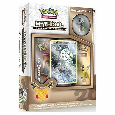 Pokemon Meloetta Mythical Collection Brand New