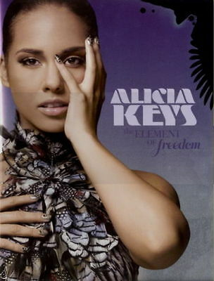 Alicia Keys 2010 Freedom Tour Vol. 1 Concert Program Book