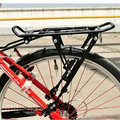 Cycling Bike Bicycle Rear Rack Carrier MTB Pannier Luggage Carrier Rack LE