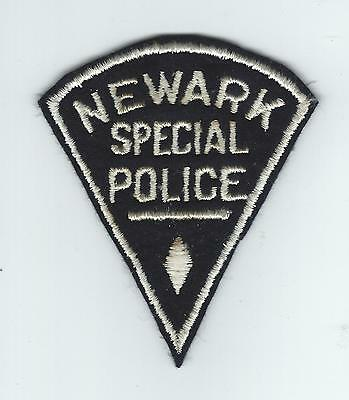 VINTAGE NEWARK, NEW JERSEY SPECIAL POLICE (EMBROIDERED ON WOOL/FELT) patch