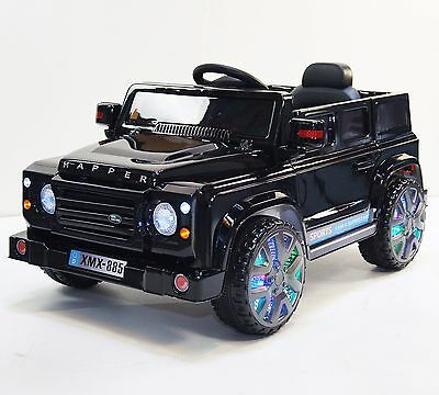 LAND ROVER For Kids style Happer (Model XMX-885) Ride On Car Black