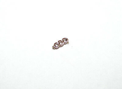 Vintage & Nice 10K Gold Odd Fellows 3 Ring Lapel Pin (Small)