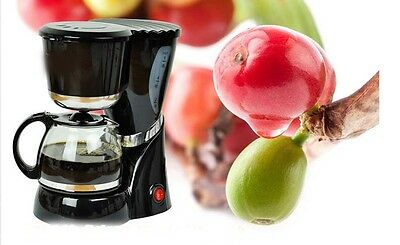 New European Black Capacity 0.6L Fully-Automatic Drip Filter Coffee Maker *