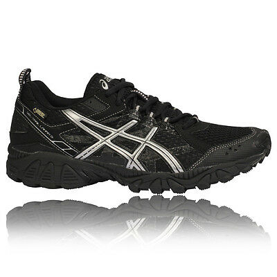 ASICS Gel-Trail Lahar 5 Mens Black Waterproof Gore Tex Running Shoes Pumps