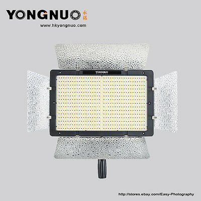 Yongnuo YN1200 LED 5500K Video Light Lamp for Canon Nikon Pentax Olympus Cameras