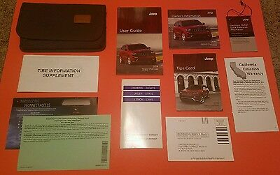 ✯ ✯ 2014 Jeep Grand Cherokee Owners Manual Set - FREE SHIPPING ✯ ✯