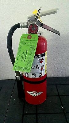 5lb Fire Extinguisher ABC Dry Chemical - Rechargeable - Blemished - New Tag -