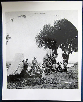 Soldiers Playing Cards Photo