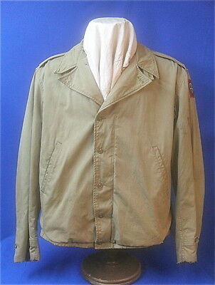 US Army M-41 Field Jacket 82nd Division Original WWII  Size 42