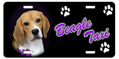 Beagle  Taxi Line License Plate (( SPECIAL LOW CLEARANCE PRICE ))