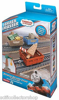Thomas & Friends Track Master Dockside Delivery Crane Cargo & Cars Set - NEW
