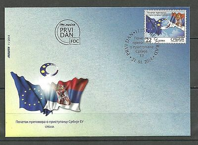 SERBIA 499 2014-Negotiation for Accession to EU FDC