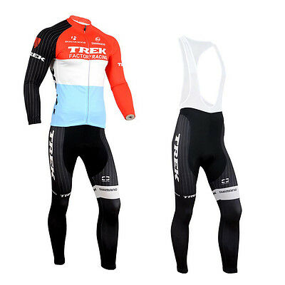 New Fashion Men's Bike Gear Cycling Jersey Bib Pants Wear Cushion Padded Outfits