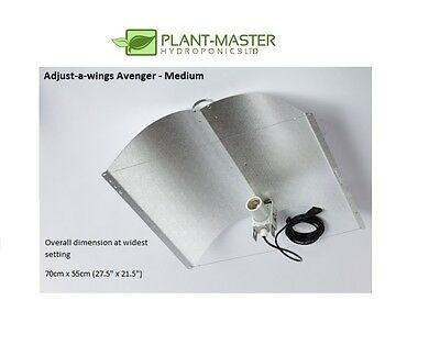 Adjusta Wing Reflector Hydroponics Shade Adjust-A-Wing Avenger The Very Best