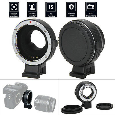 Commlite Electronic Auto-Focus Adapter for Canon EOS EF-S Lens to M4/3 GH3 GH4