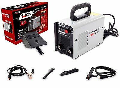 Welding Inverter 250A 230V MMA IGBT ARC Professional Portable Welder Machine