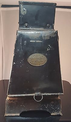 """Darkroom Lamp English Lancaster's """"The Rubralux"""" Oil Fueled Photography 1890s"""