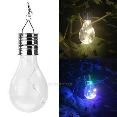 5 LED Outdoor Solar Powered Camping Hanging Rotatable Light Lamp Nightlight Bulb