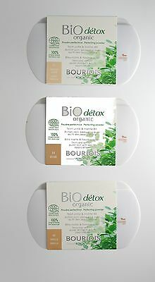Bourjois Bio Detox Organic Perfecting Powder 8HR Matte & Flawless