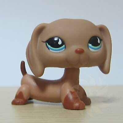Littlest Pet Shop LPS Toys Figure #1211 Long Ear Brown Tan Daschund Dog
