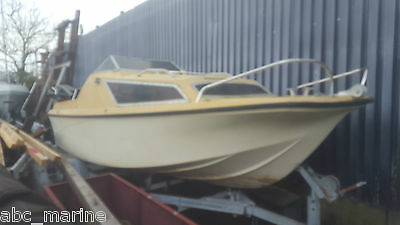 18Ft Fishing Day Boat Project No Reserve Bargain