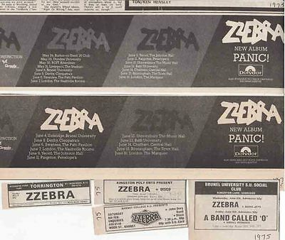 ZZEBRA : CUTTINGS COLLECTION -adverts-