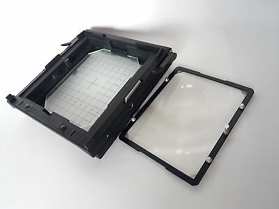 Sinar 4x5 groung Glass Back with Fresnel