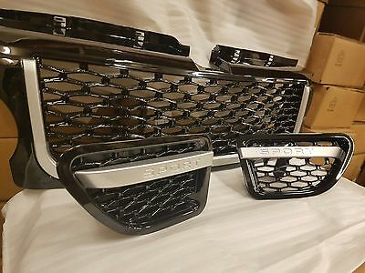 Range Rover Sport Front Grille Grill Autobiography Style Vents 2005 To 2009