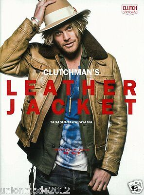 Leather Jacket Book Clutchman's Photo Collection Clutch Magazine Fashion VTG