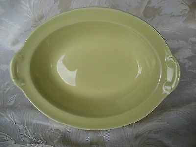 Fantastic Luray Persian Yellow Oval Vegetable Made April 1941