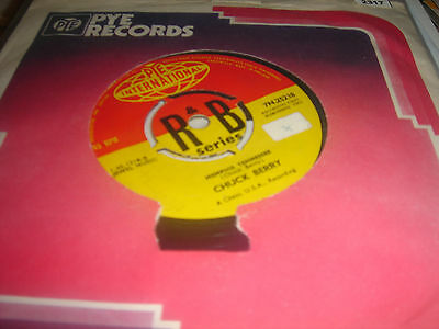 CHUCK BERRY LET IT ROCK/ MEMPHIS TENNESSEE 7 Inch Single EX+