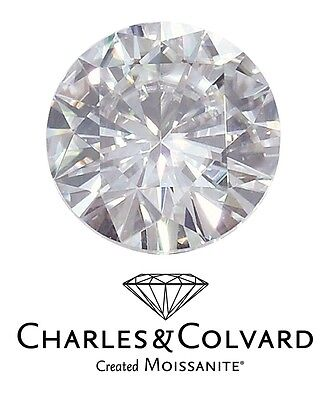 1.50ct eq 7.5mm Round Brilliant Cut Charles & Colvard Moissanite Loose Stone