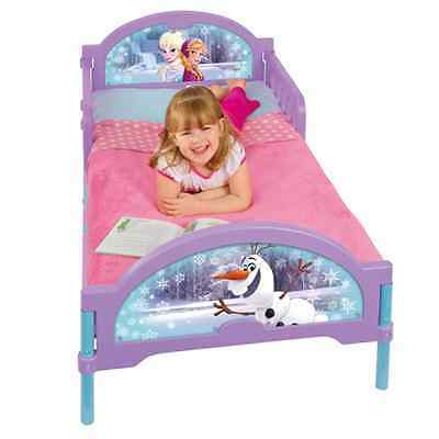 Frozen Lettino Toddler Bed + Materasso + Set Biancheria