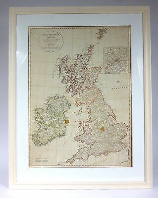 Map by Great Britain and Ireland Conrad Mannert 1813 Great Britain