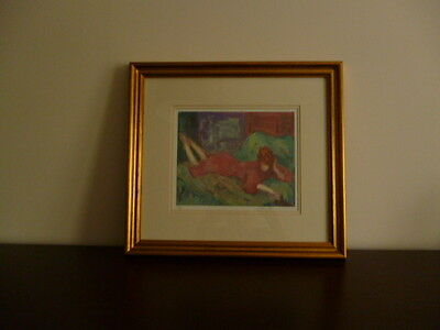 Barbara A. Wood Limited Edition (499 of 975) Signed by Artist Framed Print