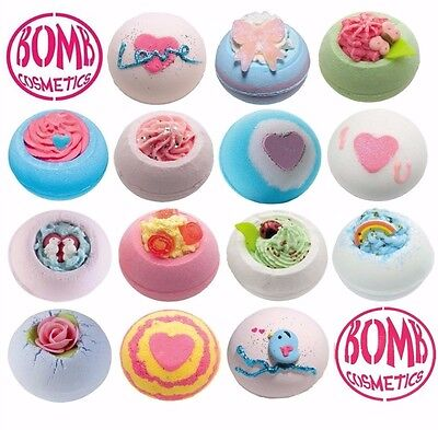 Bomb Cosmetics Bath Bombs Bath Blasters Individually Handcrafted & Wrapped 160g